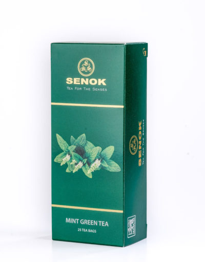 Mint Green tea Box